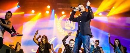 Презентация новой песни и клипа Arena Moscow...